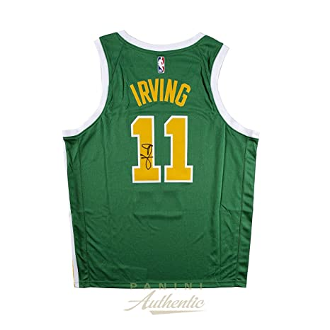 5f65286d7 Autographed Kyrie Irving Jersey - Nike Earned Edition Swingman ~Open  Edition Item~ - Panini
