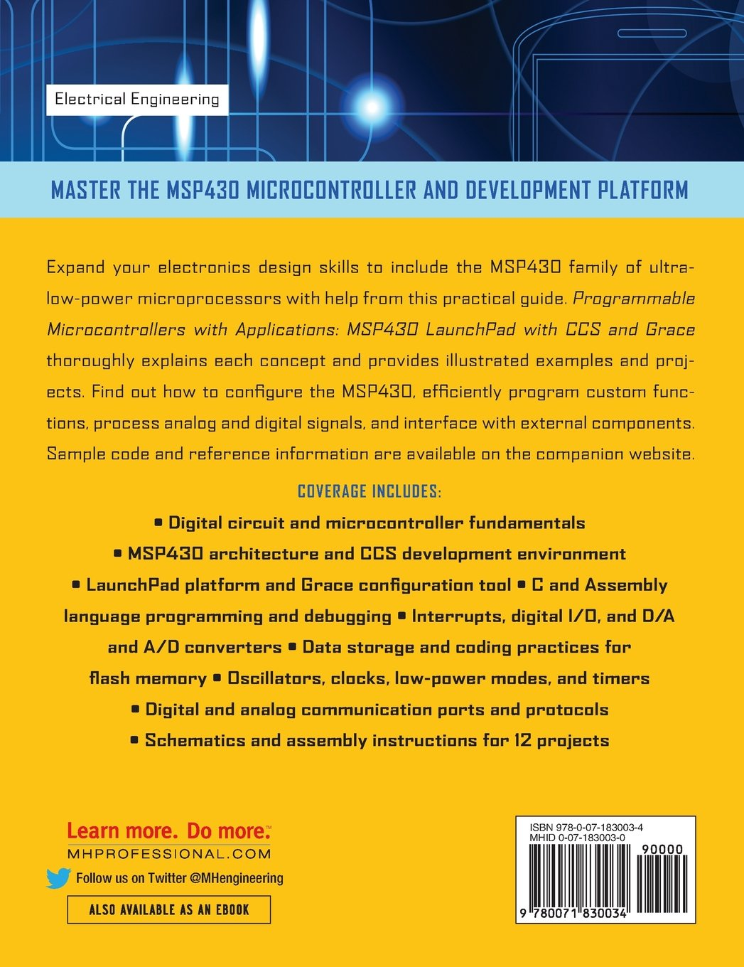 Buy Programmable Microcontrollers with Applications Book