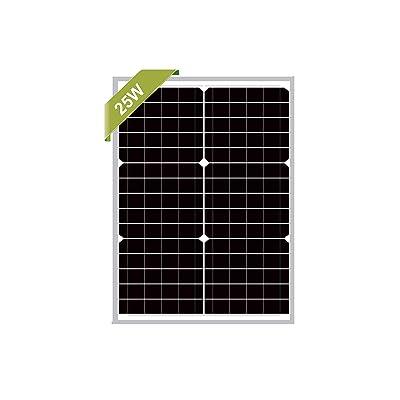 25 Watts Monocrystalline Newpowa 12v Mono Solar Panel Module 20W < 25W < 30W Rv Marine Boat Off Grid : Garden & Outdoor
