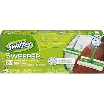 Amazon Com Swiffer Sweeper 2 In 1 Mop And Broom Floor