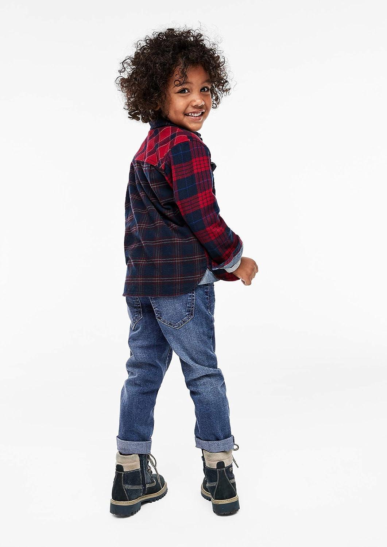 s.Oliver Junior 74.899.71.0520 Jeans Bambino 122 Blu Blue Denim Stretch 56z7