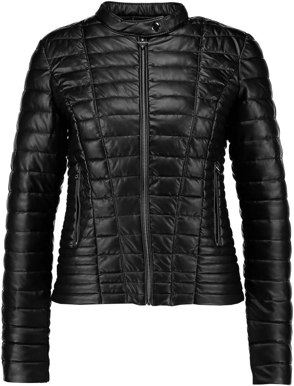 Koza Leathers Womens Lambskin Leather Biker Jacket KN226
