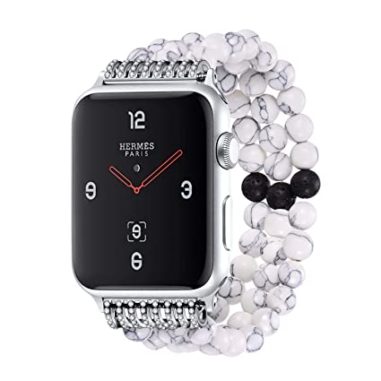 Amazon.com: Bandmax Compatible para Apple Watch Band 1.496 ...