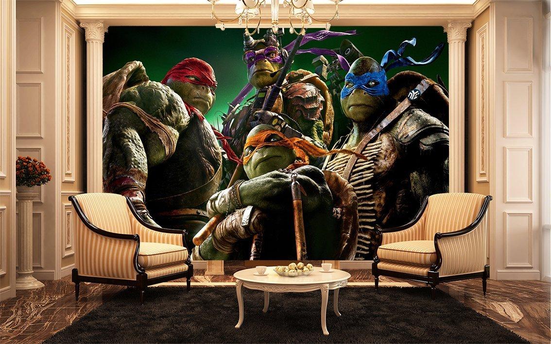 Teenage Mutant Ninja Turtles Wall Mural , Kids Wall Murals: Amazon.co.uk:  Kitchen U0026 Home Part 64