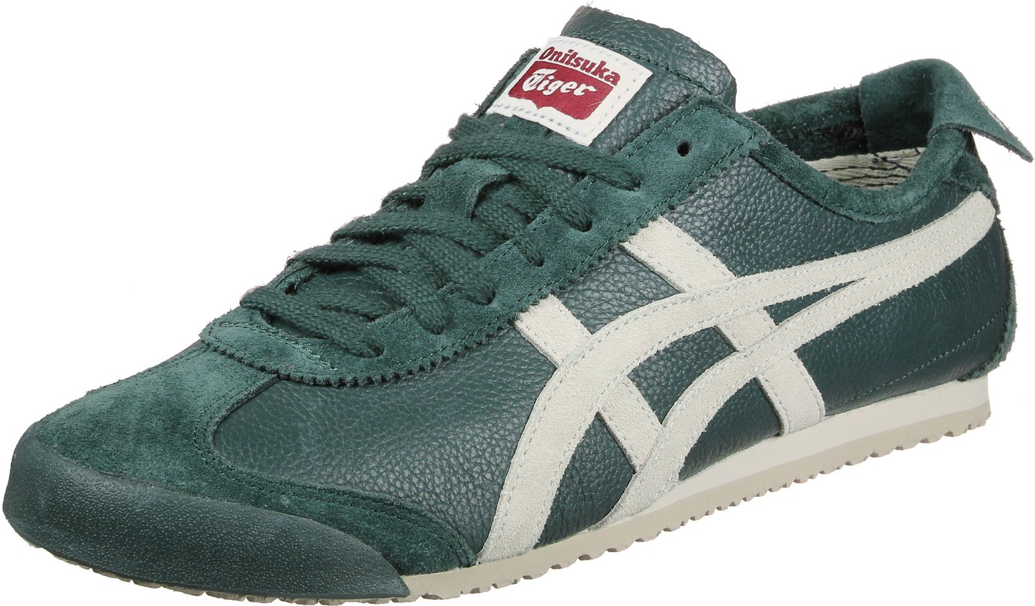 Onitsuka Tiger Mexico 66 Vin Dark Forest Feather Grey  44.5 EU|Gr眉n