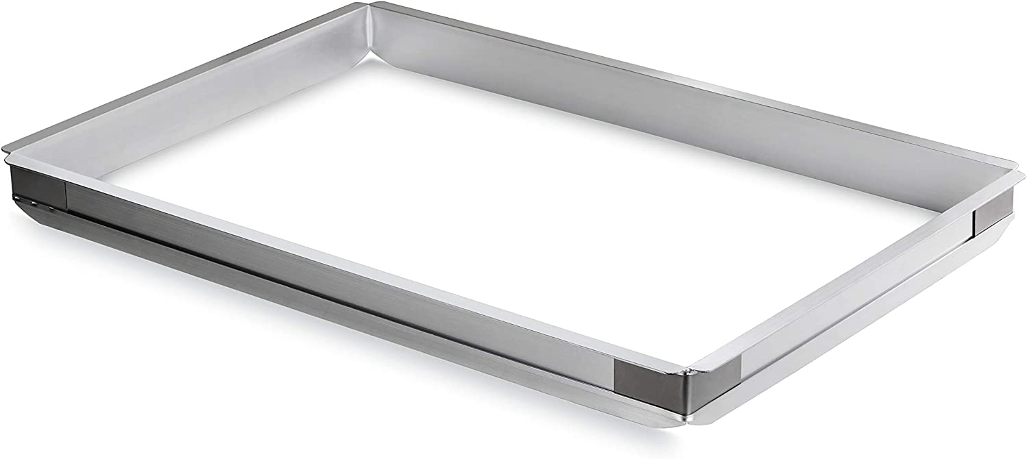 New Star Foodservice 42573 Aluminum Sheet Bun Pan Extender, 18 x 26 inch (Full Size)