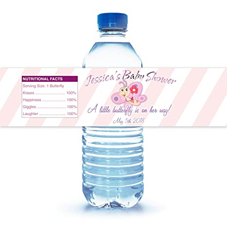 Amazon Baby Shower Water Bottle Labels Office Products