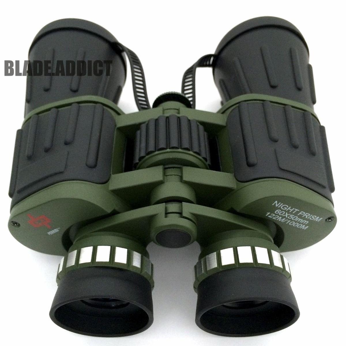 DNCE Day Night 60×50 Military Army Zoom Powerful Binoculars Optics Hunting Camping