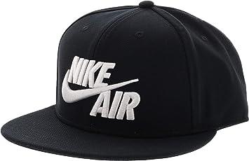 Nike U NK Air True Cap Classic Gorra de Tenis, Unisex Adulto, Negro (Black/Black/White), Única