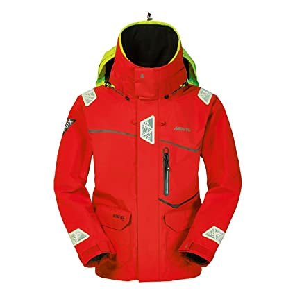 Musto MPX Offshore Gore-Tex Race Jacket in Red SM1266 Size ...