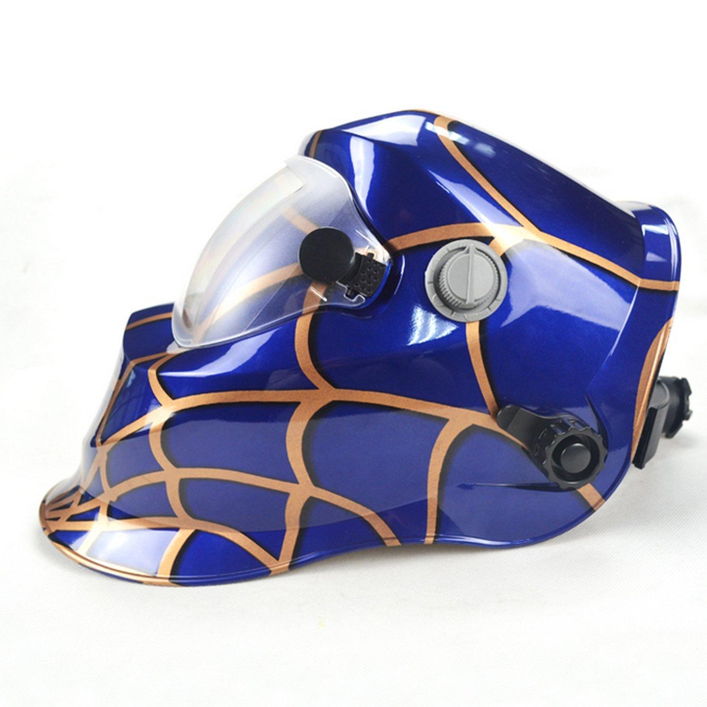 Deko araña Solar oscurecimiento automático máscara de soldadura eléctrica/casco/soldador cap/lente de soldadura para soldar máquina por Deko: Amazon.es: ...