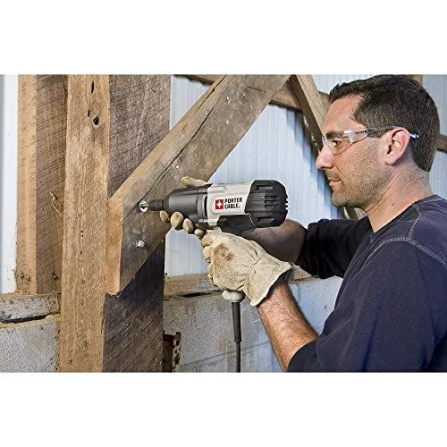 PORTER-CABLE PCE210 Impact Wrench with Hog Ring Anvil, 1 2-Inch
