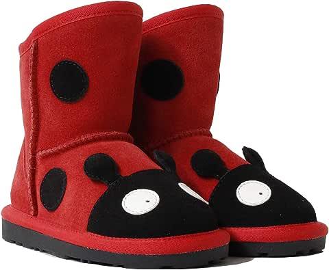 UGG Boots Kids Bootie - Baby Infant Shoes, Premium Australia Sheepskin, No Sole