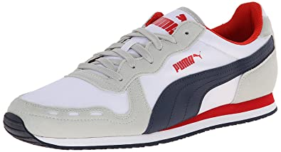 Mens Shoes PUMA Cabana Racer Fun Gray Violet/Peacoat/White