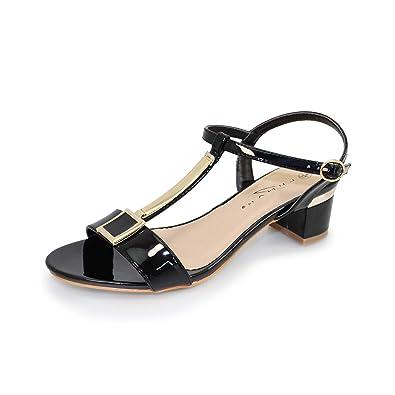 c51b6aaacb96 Lunar Women s Blaze  T  Bar Sandal  Amazon.co.uk  Shoes   Bags