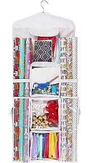 Charmant Double Sided Hanging Gift Wrap U0026 Bag Organizer Storage