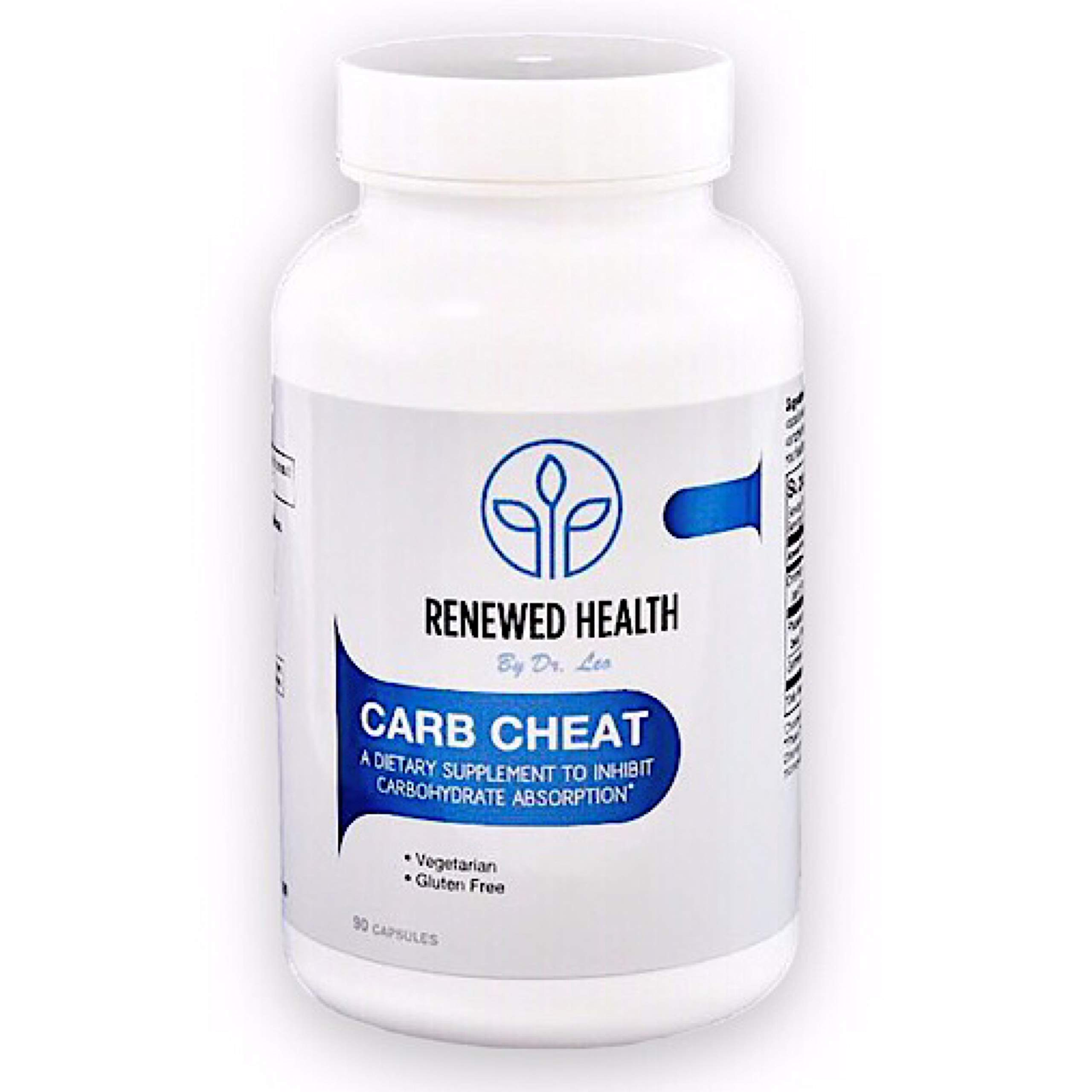 Keto Carbohydrate Blocker Carb Cheat for Easy, Effective Weight Loss 90 Caps. Fat Burner, Supports Glucose Levels, Neutralizes Calories from Complex Carbs