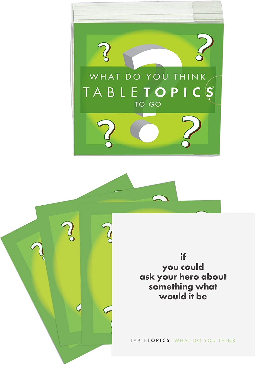 TableTopics TG-0236-A TABLETOPICS to Go - What Do You Think