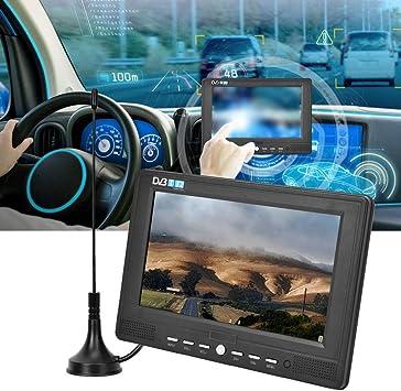 Qinlorgo Televisión Digital portátil de 7 Pulgadas, 16: 9 ATSC ...