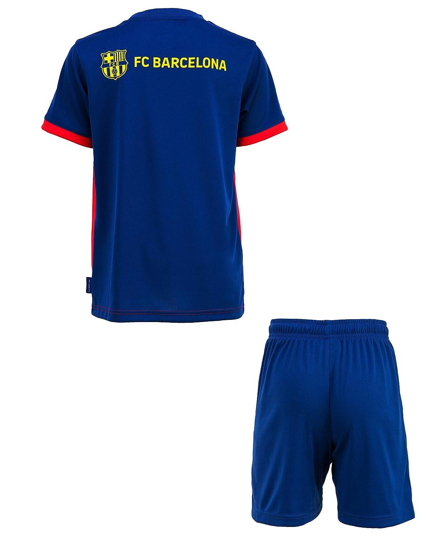 Fc Barcelone Conjunto Camiseta + Pantalones Cortos Barca ...
