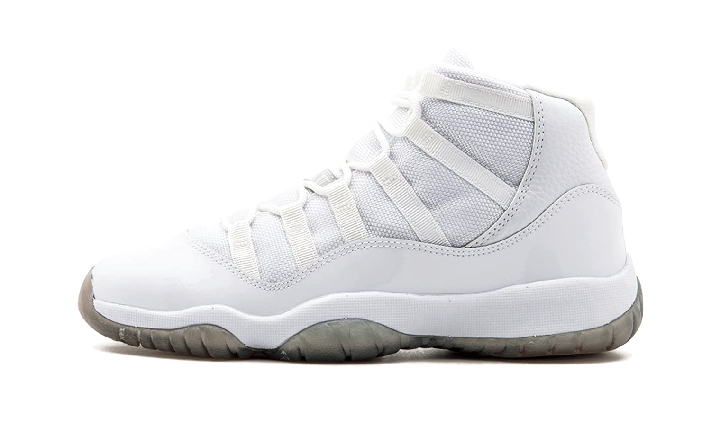 newest 76d61 ea997 ... norway amazon air jordan 11 xi retro silver anniversary sneakers 91628  aaf27