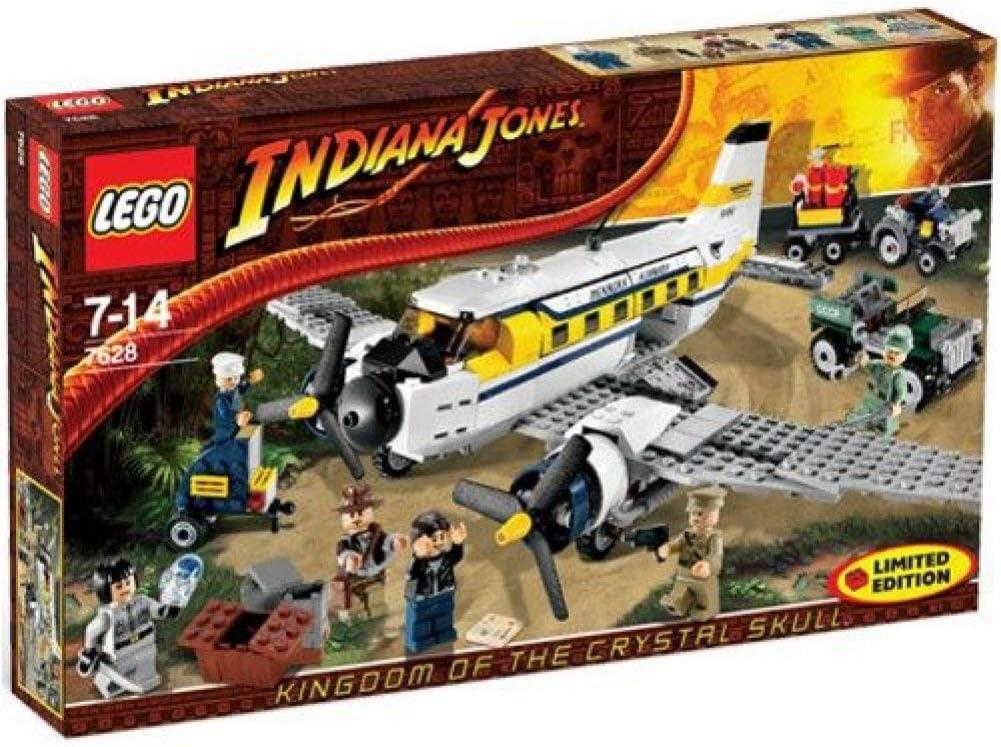 LEGO Indiana Jones: Peril En Peru De Edición Limitada Establecer 7628: Amazon.es: Juguetes y juegos