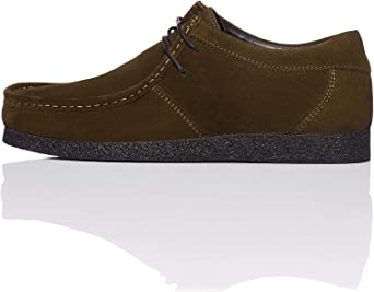 find. Suede Mocasines, Verde Khaki, 45/46 EU: Amazon.es: Zapatos y complementos