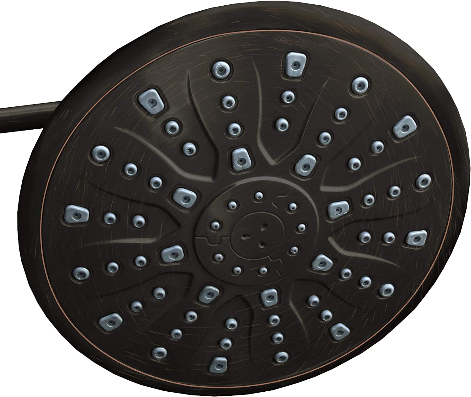 ShowerMaxx, Elite Series, 9 inch Round High Pressure Rainfall Shower Head, MAXX-imize Your Rainfall Experience with Easy-to-Remove Flow Restrictor Rain Showerhead, Oil Rubbed Bronze Finish