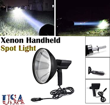 5 Inch 100W Outdoor HandHeld HID Spotlight Driving Lights Hunting Search light