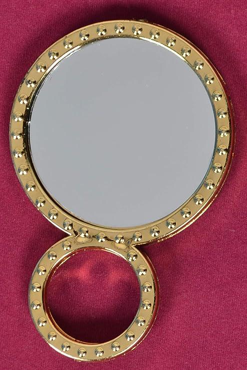 Amazon.com: Garden Of Arts - Espejo de mano pequeño para ...