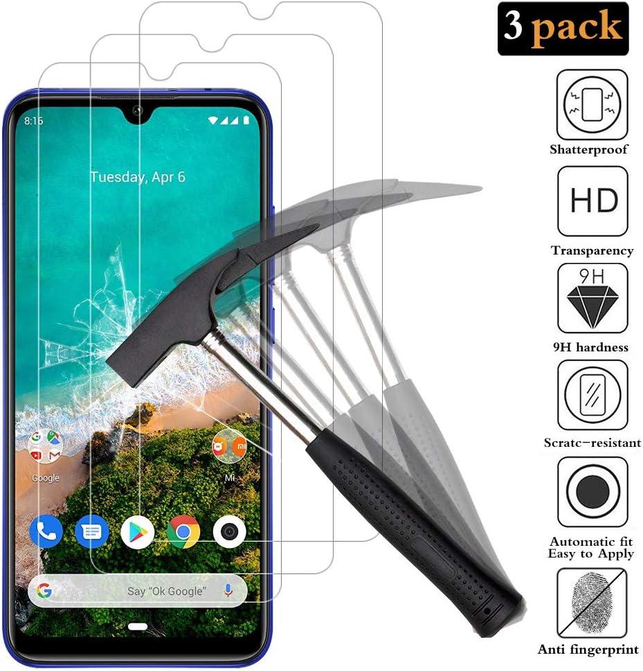 ANEWSIR Cristal Templado Xiaomi Mi A3 [3 Pack], Fácil de Limpiar, Sin Burbujas, Alta dureza Protector de Pantalla para Xiaomi Mi A3: Amazon.es: Electrónica