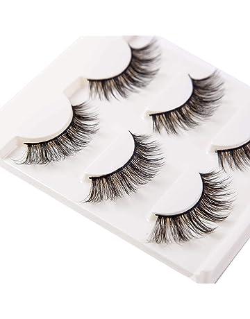 Beauty & Health Realistic 5pairs 3d Mink Hair False Eyelashes Makeup Cross Long Messy Fake Eye Lashes Handmade Extension Make Up Beauty Tools Maquiagem