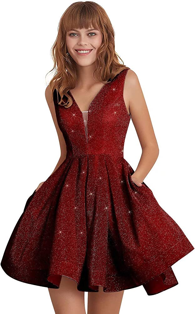 Glittery Homecoming Dresses 2019 Juniors