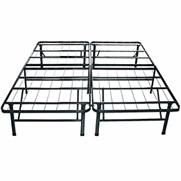 classic brands hercules platform heavy duty metal bed framemattress foundation cal king