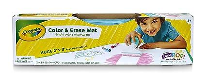 Amazon.com: Crayola Color & Erase Mat, Travel Coloring Kit, Gifts ...