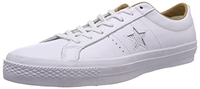 0e7109185f1 Converse One Star Leather OX White Sand (9 Mens   10.5 Womens)