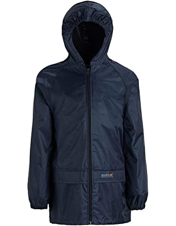 9885427017e86 Regatta Unisex Kids Storm Break Waterproof Jacket