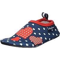 Playshoes, Badeslipper Aqua-Schuhe Herzchen Unisex niños