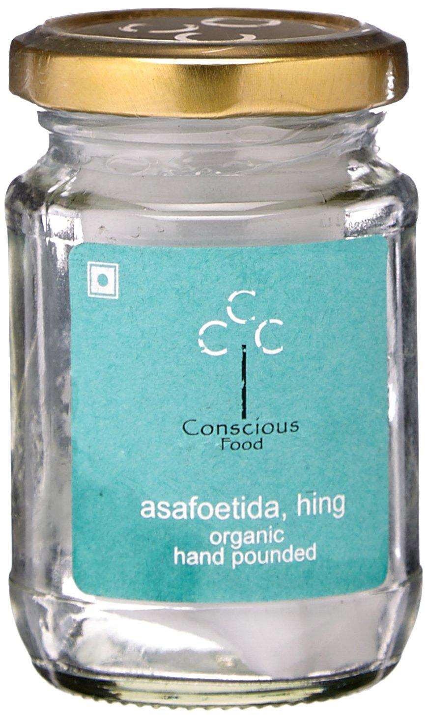 Conscious Food Organic Asafoetida (Hing), 10g by Conscious Food
