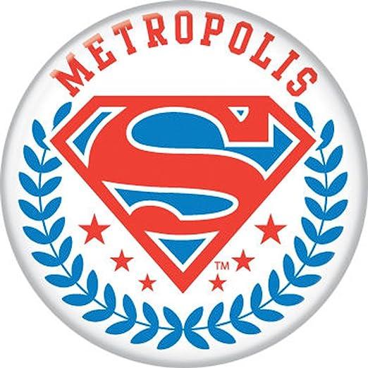 Overig Verzamelingen SUPERMAN INSIGNIA 7 DIFFERENT NEW Pinbacks Buttons C