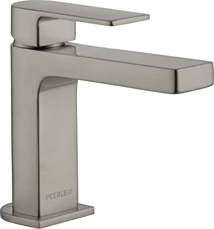 Peerless P1519LF BN LPU Xander Single Handle Bathroom Faucet, Brushed Nickel
