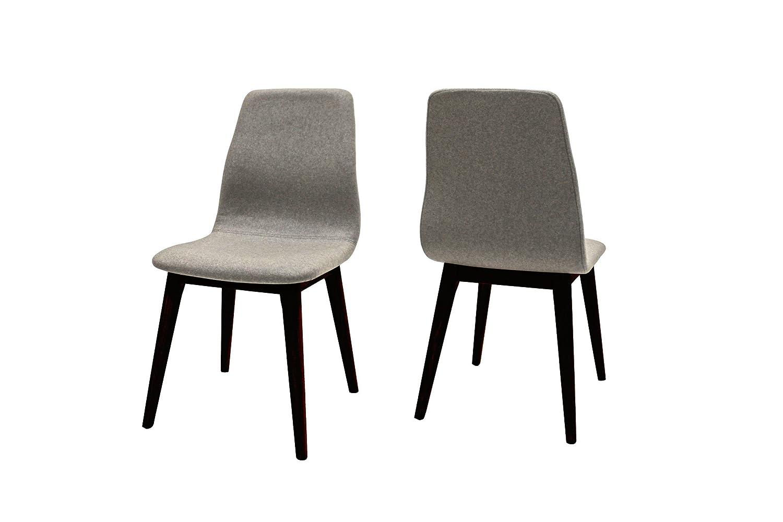 Canett Optima 4er-Set Stuhl schwarz hellgrau B47 x T57 x H93 cm