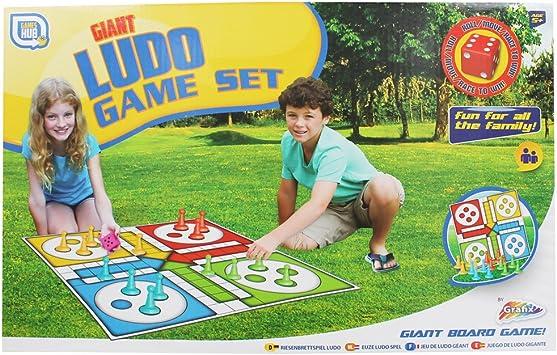 Set de juego de mesa gigante tradicional Ludo Family Set de juego ...