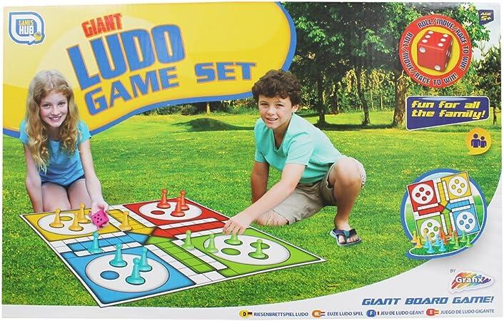 Set de juego de mesa gigante tradicional Ludo Family Set de juego infantil divertido para niños: Amazon.es: Juguetes y juegos