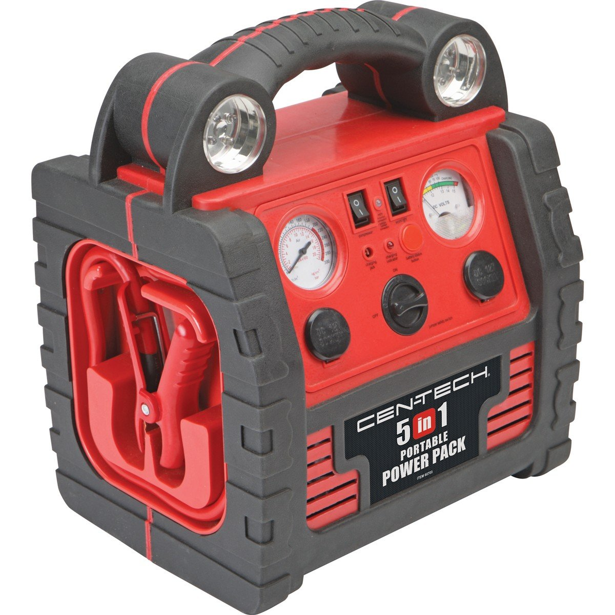 Cen Tech Battery Charger Well Known Brand