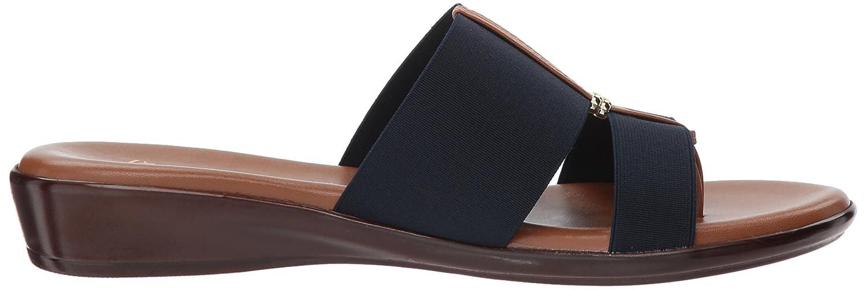 ITALIAN Shoemakers Women's Milla Slide Sandal B079H81KCD 9 M US Navy
