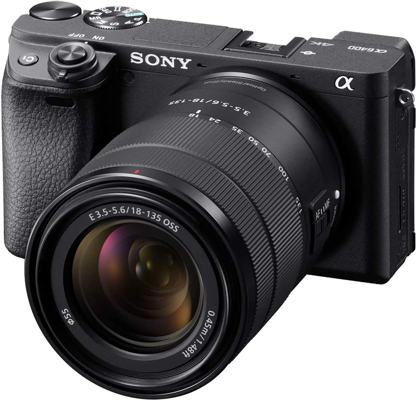 Best Camera For Filmmaking On a Budget Under $1500 - Sony Alpha A6400
