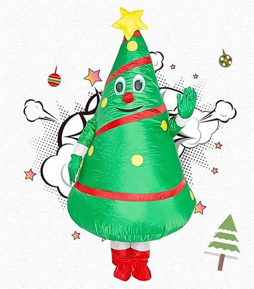 LXYDress Disfraces Disfraz de arbol de Navidad Inflable Fiestas de ...