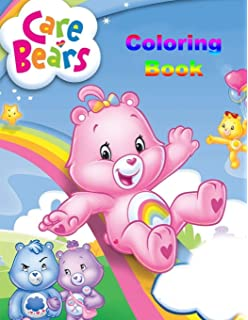 Amazon Com Care Bears Advanced Coloring Book Snack Attack Toys