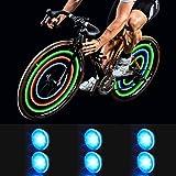 MapleSeeker Bike Wheel Lights Bike Spoke Lights with Batteries Included, Waterproof Bicycle Wheel Lights for Safe…
